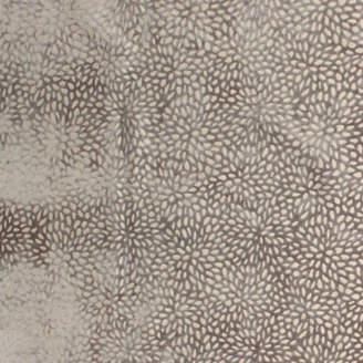"Roland Mouret Coco Decor Ltd Ikebana Silver Fabric, 55""x36"""
