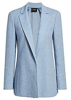 Akris Women's Pekka Linen & Wool Jacket