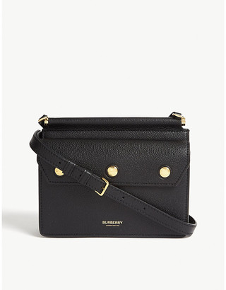 Burberry Title mini leather cross-body bag