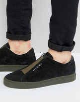 Religion Gusset Suede Trainers