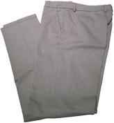 Allegri Beige Cotton Trousers for Women