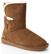 BearPaw Tan Victorian Short Boots