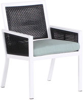Koverton Parkview Woven Dining Chair, Spa Blue