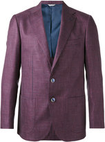 Fashion Clinic Timeless - houndstooth pattern blazer - men - Silk/Linen/Flax/Viscose/Virgin Wool - 46