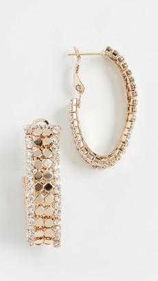 Theia Nora Hoop Earrings