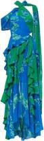Tanya Taylor Briella Cutout Maxi Dress