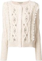 Ermanno Scervino embellished knit cardigan