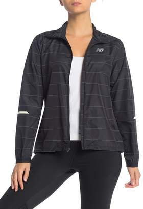 New Balance Reflect Pack Wind Water Resistant Jacket