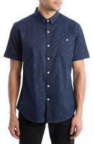 7 Diamonds Men's Brand New Moves Print Woven Shirt