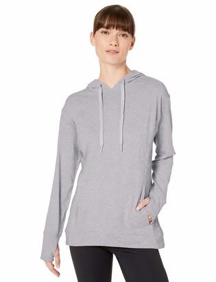 Danskin Women's Comfy Hooded Pullover Sweatshirt