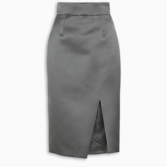 Miu Miu Front slit pencil skirt
