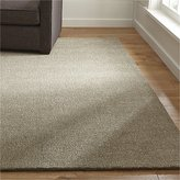 Crate & Barrel Quinn Taupe Wool Rug