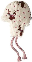 Muk Luks Women's Happy Glamper Helmet Hat-Deer