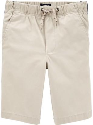 Osh Kosh Boys 4-14 Side Stripe Pull-On Shorts