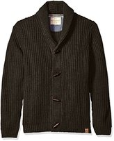 Weatherproof Vintage Men's Chunky Cardigan with Toggles