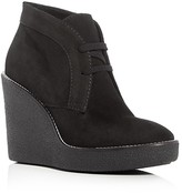Aquatalia Vianna Weatherproof Desert Wedge Booties