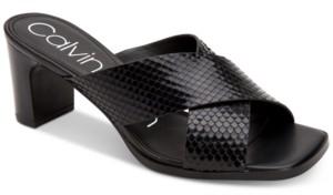 Calvin Klein Women's Dylan Dress Sandals Women's Shoes