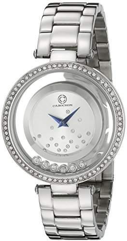 Cabochon Women's 80418-02S Joya Analog Display Quartz Watch