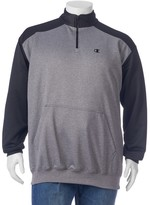 Champion Big & Tall Colorblock Performance Quarter-Zip Pullover