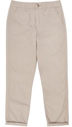 River Island Boys Beige chino trousers