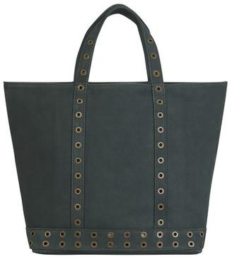 Vanessa Bruno Medium Nubuck Leather Cabas Tote Bag With Eyelets