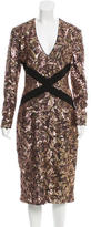 Just Cavalli Sequined Cocktail Dress w/ Tags