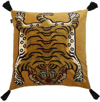 House Of Hackney Large Saber Cotton Velvet Accent Pillow