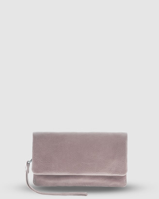 Cobb & Co - Women's Pink Wallets - Albury Soft Leather Fold Over Wallet - Size One Size at The Iconic