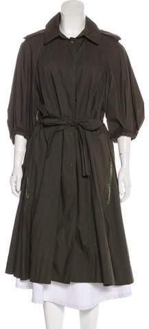 Lanvin Hooded Long Coat