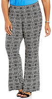 Vince Camuto Plus Yoruba Graphic Pull On Pant