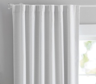 Pottery Barn Kids Evelyn Metallic Blackout Curtain