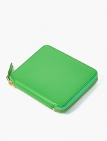 Comme Des Garcons Wallet Green Classic Leather Wallet