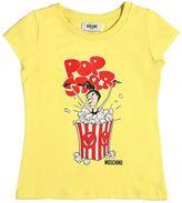 Moschino Popcorn Printed Cotton Jersey T-Shirt