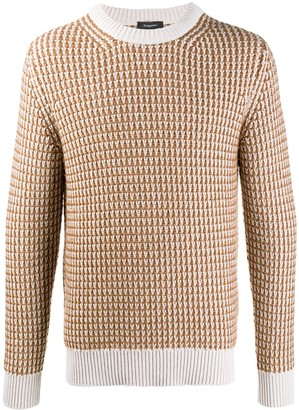 Ermenegildo Zegna Statement Silk-Cashmere Knit Jumper