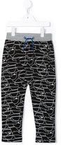 Armani Junior printed track pants