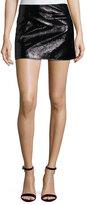 Courreges Coated Textured Miniskirt