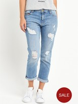 Tommy Hilfiger Straight Cropped Lana Jean - Fresh Light Blue