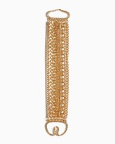 Charming charlie Mixed Chains Bracelet
