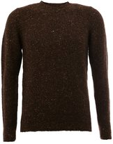 Roberto Collina flocked pullover