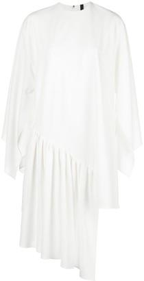Paula Knorr Asymmetric Hem Dress