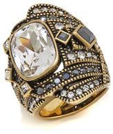"Heidi Daus High Style"" Crystal Statement Ring"