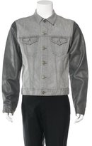 J Brand Owen Leather-Trimmed Jacket