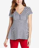 Jessica Simpson Maternity Striped Top