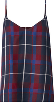L'Agence Jane Plaid Tank