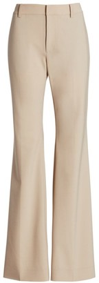 Co HIgh-Rise Wool-Blend Trousers