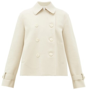 Harris Wharf London Double-breasted Pressed-wool Jacket - Cream