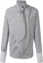 J.W.Anderson scarf detail shirt - men - Cotton - 44