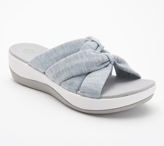 Clarks CLOUDSTEPPERS by Jersey Slide Sandals - Arla Dristi
