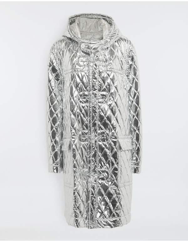 Maison Margiela Quilted Hood Coat