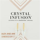 Alex and Ani Crystal Infusion Earrings, Spike Earrings